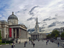 Westminster, National Gallery & St Martins's, London © Mick Lobb
